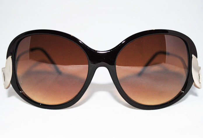 Glamour - Brun - Solglasögon