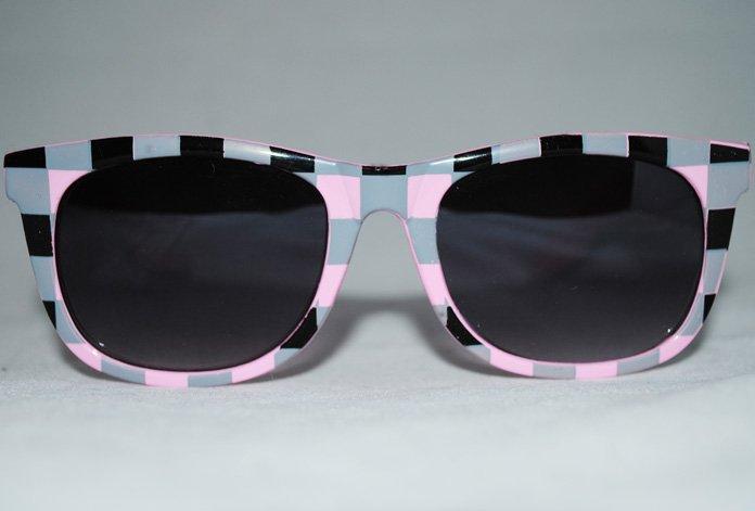 Wayfarer Chess - Rosa - Solglasögon