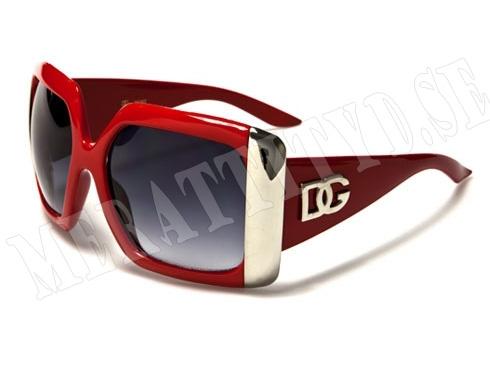 DG Big - Röd - Solglasögon