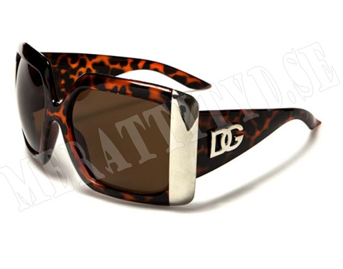DG Big - Leopard - Solglasögon