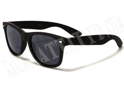 Wayfarer Mirror - Svart - Solglasögon