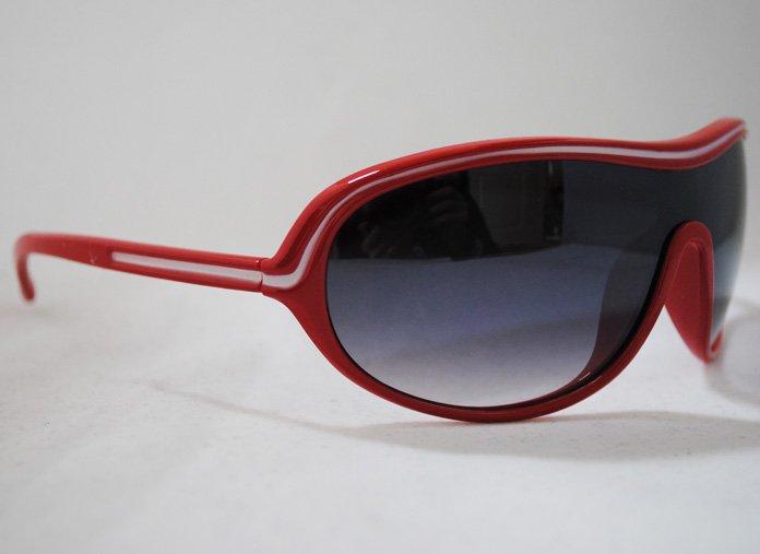 Porscha Aviator - Röd - Solglasögon