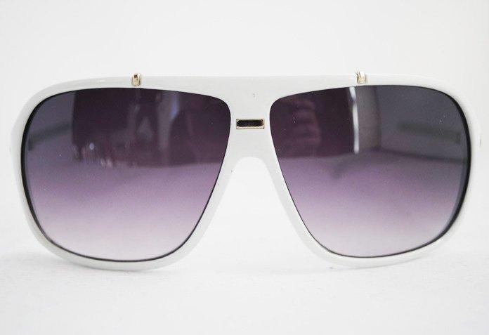 Aviator Classic Square - Vit - Solglasögon