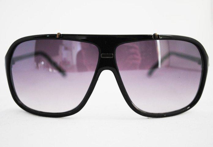 Classic Square - Svart - Solglasögon