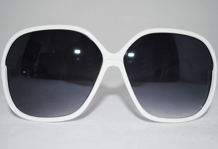 Big Star - Vit - Solglasögon