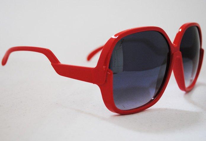 Big Star - Röd - Solglasögon