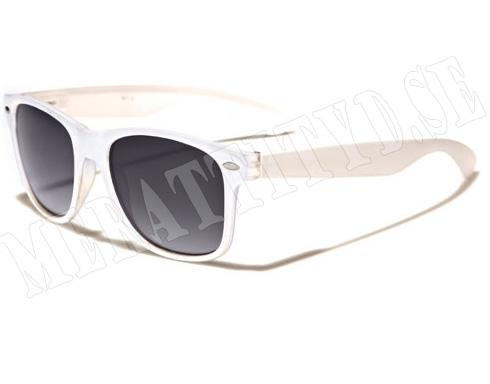 Wayfarer Mix - Vit - Solglasögon
