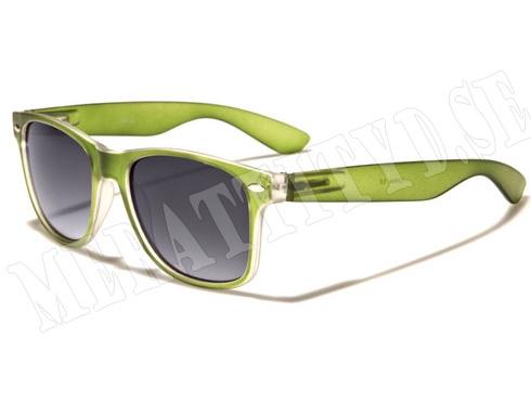 Wayfarer Mix - Grön - Solglasögon