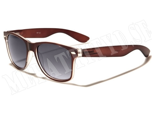Wayfarer Mix - Brun - Solglasögon