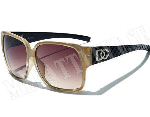 DG TV - Beige - Solglasögon