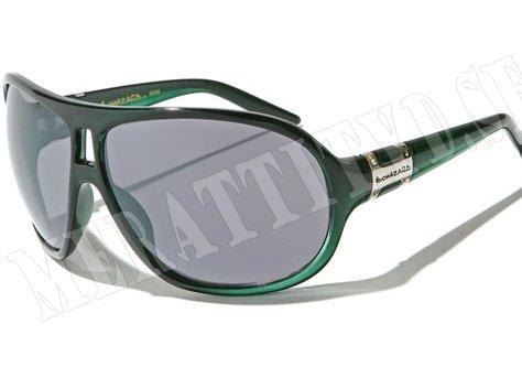 Biohazard Oval - Grön - Solglasögon