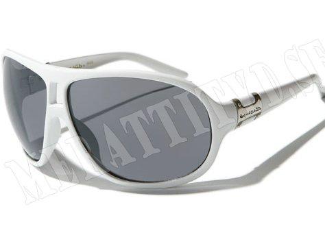 Biohazard Oval - Vit - Solglasögon