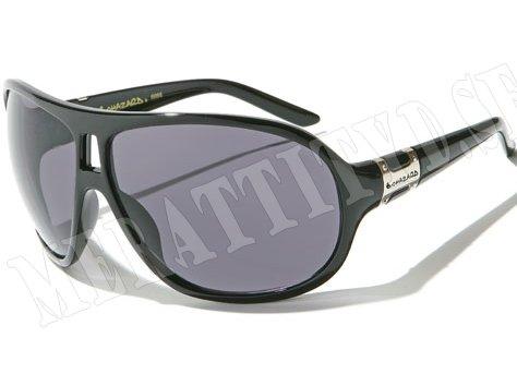 Biohazard Oval - Svart - Solglasögon