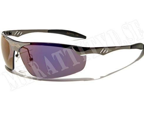 XLoop Steel Silver m. färgat glas Solglasögon Merattityd.se Billiga och trendiga solglasögon o