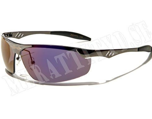 XLoop Steel - Silver m. färgat glas - Solglasögon