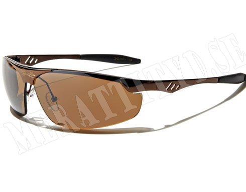 XLoop Steel - Brun - Solglasögon