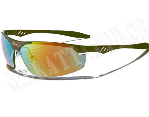 XLoop Steel - Mörkgrå m. färgat spegelglas - Solglasögon