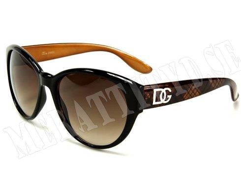 DG Dame - Brun - Solglasögon
