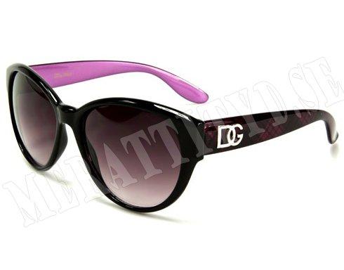 DG Dame - Rosa - Solglasögon