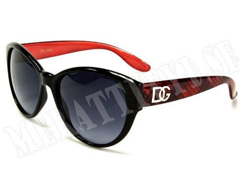 DG Dame - Röd - Solglasögon