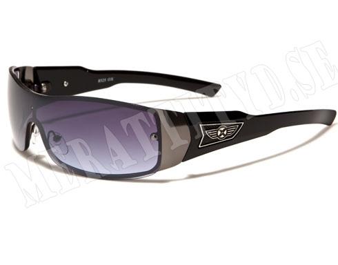 Oxigen Sport - Svart med lila glas - Solglasögon