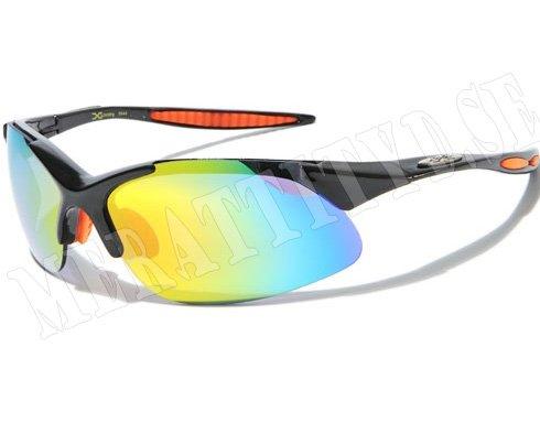 XLoop Sport - Svart/Orange - Solglasögon
