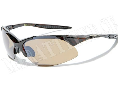 XLoop Sport - Brun - Solglasögon
