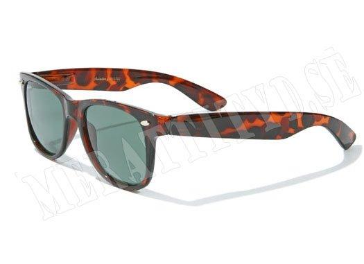 Aviator Wayfarer - brun - solglasögon