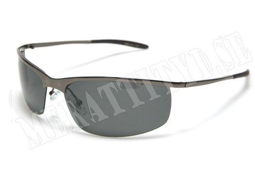 Steel Stream - Silvermörkgrå - Solglasögon