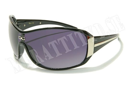 DG Star - Svart/Silver - Solglasögon