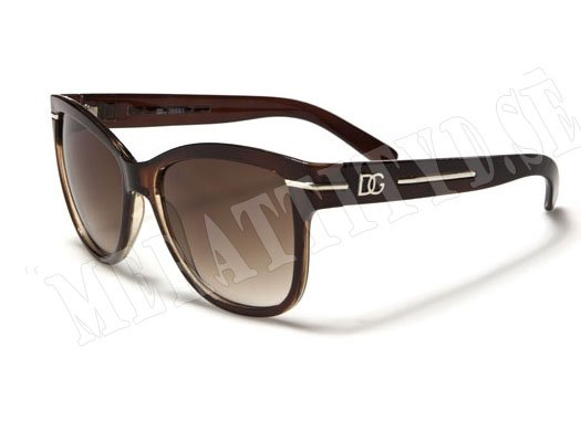 DG Wayfarer Line - Brun - Solglasögon