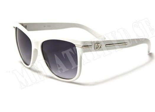 DG Wayfarer Line - Vit - Solglasögon