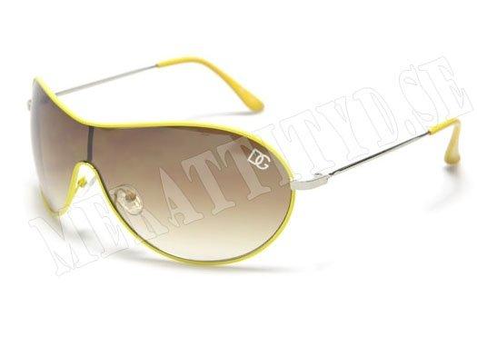 gula solglasögon