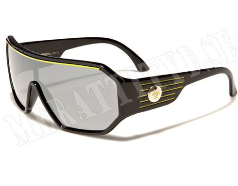 Biohazard Space - Svart/Gul - Solglasögon