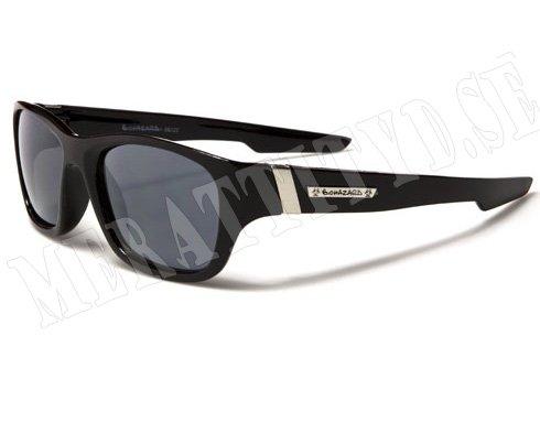 Biohazard Wayfarer Stripes - Svart - Solglasögon
