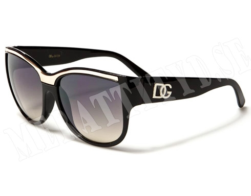 DG Lush - Svart/Silver - Solglasögon