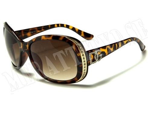 DG Hollywood - Leopard/Guld - Solglasögon