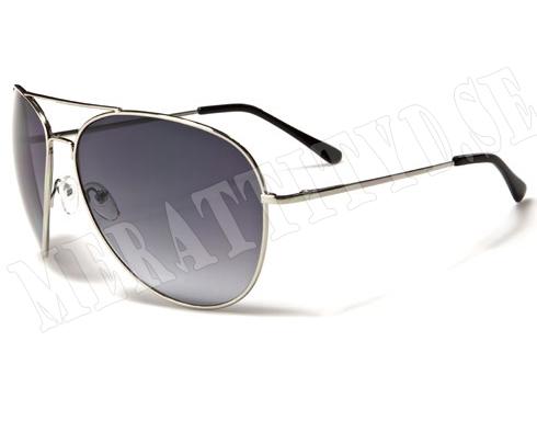 Air Force Pilot - Silver - Solglasögon
