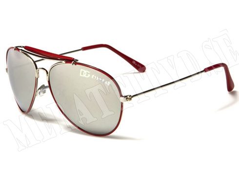 Pilot DG Kids - Röd - Barnsolglasögon