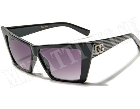DG Space - Svart med ränder - Solglasögon