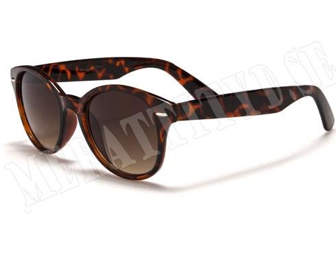 Retro Optic - Brun - Solglasögon