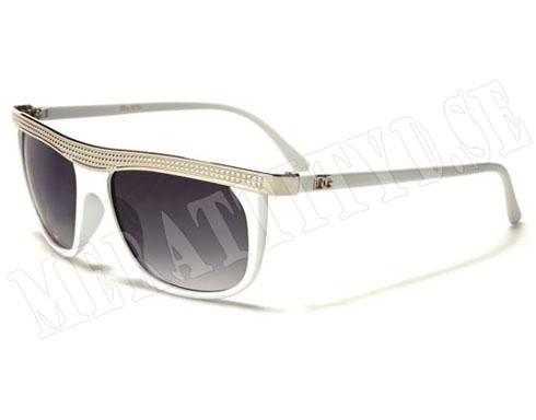 DG Line - Vit - Solglasögon