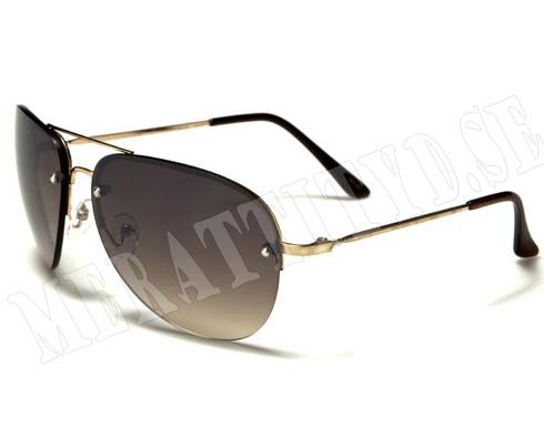 AirForce Plane - Guld - Solglasögon