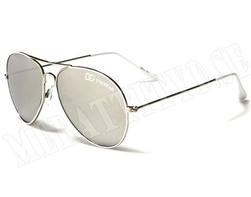 DG Eyewear - Vit - Barnsolglasögon