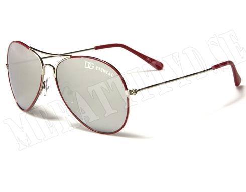 DG Eyewear - Röd - Barnsolglasögon
