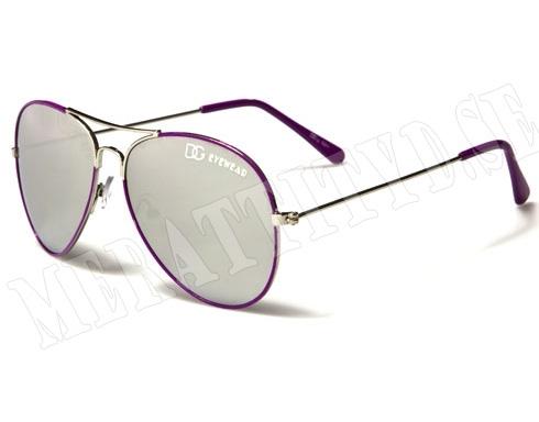 DG Eyewear - Lila - Barnsolglasögon