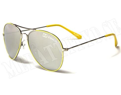 DG Eyewear - Gul - Barnsolglasögon