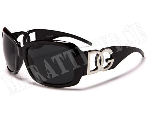DG Fashion - Svart - Barnsolglasögon