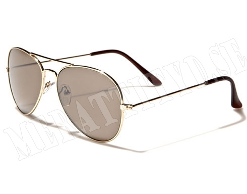 Aviator Forcer - Guldiga - Solglasögon