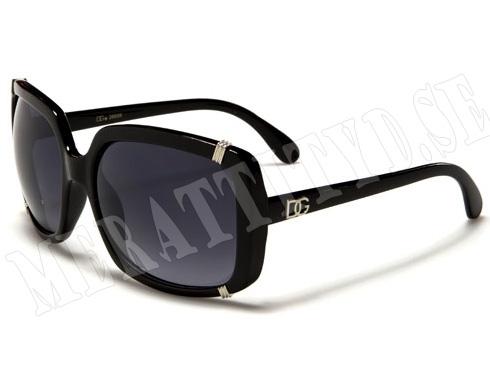 DG Glamour - Svart - Solglasögon